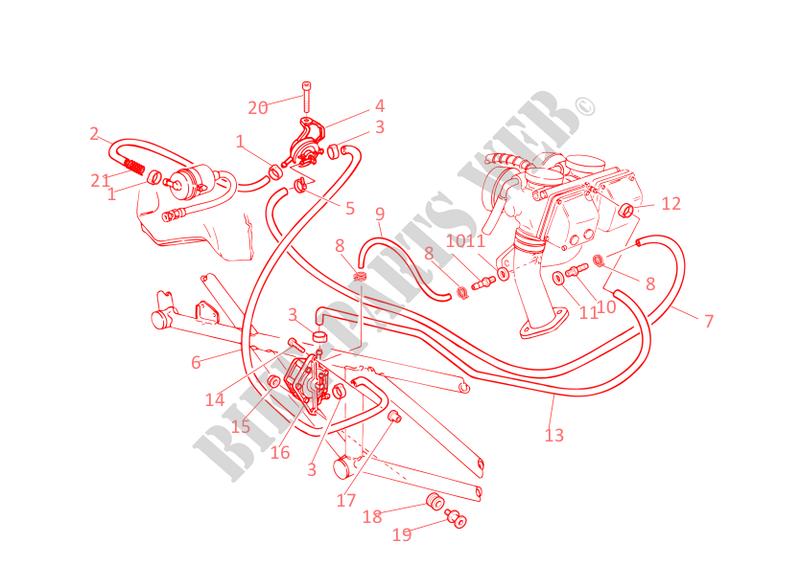 Kraftstoffzufuhr Monster 600 Monster 600 2001 Monster Ducati