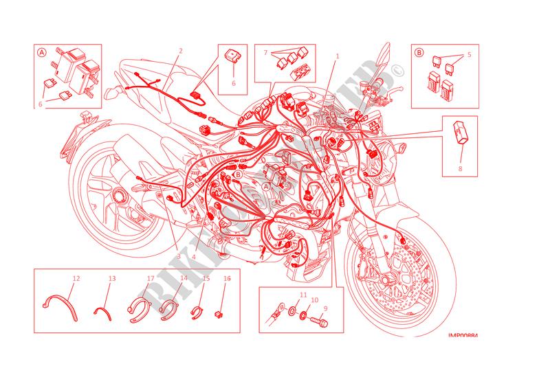Ausgezeichnet Kundenspezifischer Kabelbaum Motorrad Fotos - Die ...
